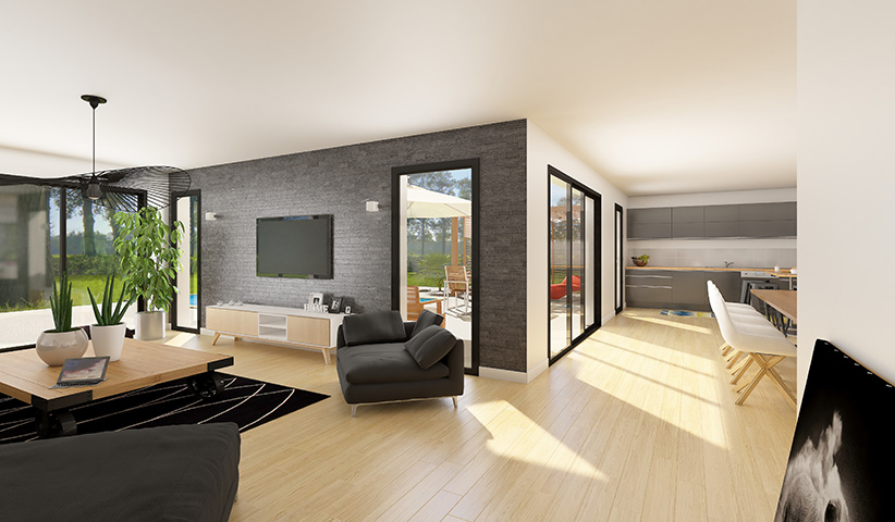 2020/maison design contemporain