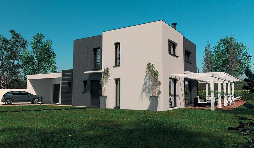 Maison Contemporaine A Etage 160 M 4 Chambres