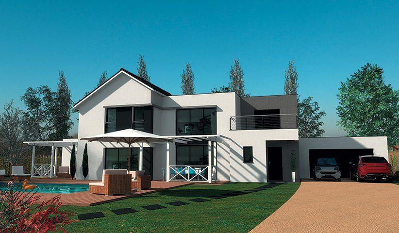 Bien-aimé Maison CONTEMPORAINE à étage 200 m² 4 chambres SN71