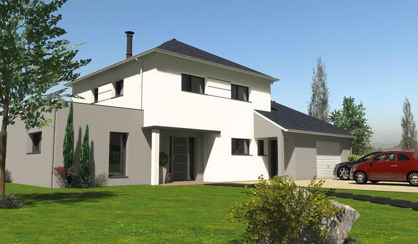Maison CONTEMPORAINE à étage 10 m² 10 chambres