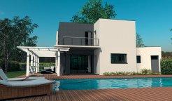 Maison CONTEMPORAINE à étage 200 m² 4 chambres
